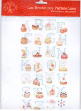 LBP Cross Stitch  Le Grand ABC Patissier Alphabet Chart. Veronique Enginger