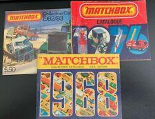 Matchbox Collectors Catalog 1968 1976 1982/3 Vintage Collectible