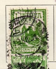 Lithuania 1923 Early Issue Fine Used 50c.