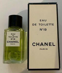 CHANEL NO 19 EAU DE TOILETTE 19 ml vintage MINIATURE BNIB