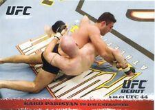 2009 TOPPS UFC ROUND 1 DEBUT  ROOKIE RC KARO PARISYAN #16