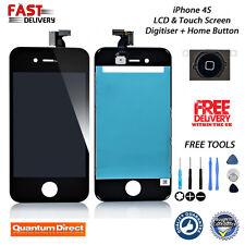 Negro LCD y Digitalizador Pantalla Táctil Conjunto Repuesto para Apple iPhone 4S Nuevo