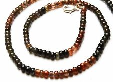 """16.5/"""" RONDELLE BEADS NECKLACE 173CTS NATURAL MULTICOLOR SCAPOLITE 6-7MM APPROX"""