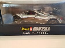 Revell Metal Audi Avus Quattro 1/18 Scale Die Cast - Chrome