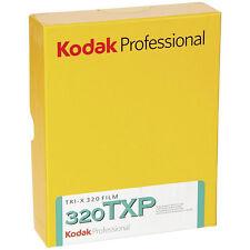 """Confezione da 50 FOGLI Kodak TRI-X PAN 320 TXP Nero & Bianco Professional 4x5"""" Foglio Pellicola"""