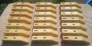 """Jorgensen HandScrew Clamps Lot Qty 21 8"""" Small Wood parallel Clamp Pony Vise"""