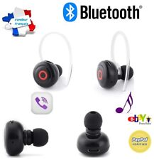 Kit Main Libre Bluetooth Mini Oreillette + 1 écouteur -- iphone samsung android