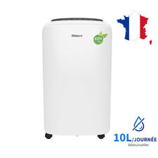 Shinco Déshumidificateur D'air 10 L/24h portable Silencieux Drainage continu