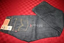 BOYS LEVIS 514 STRAIGHT REGULAR FIT JEANS 14 REG 27 X 27 SUPER SOFT NWT $40