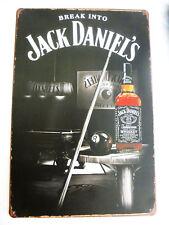 Blechschild Jack Daniels  Billiard Werbeschild Serie Whisky Reklameschilder