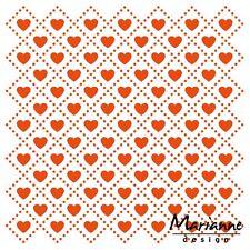 Marianne Design Embossing Folder SWEET HEARTS DF3432 125 x 125 mm