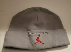 Toddler Nike Air Jordan Jumpman Beanie Boggin Hat Cap Gray