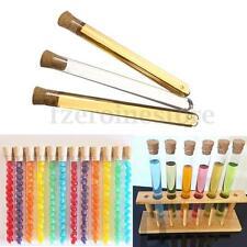 50x 20ML Plastic Test Tubes 150x15mm Shots Candy Wedding Favours + Corks Stopper
