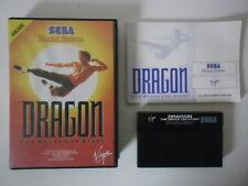 DRAGON THE BRUCE LEE STORY - SEGA MASTER SYSTEM - COMPLET