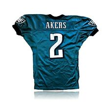 David Akers Game Used / Issued Philadelphia Eagles Signed Jersey Autograph JSA