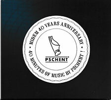 Midem 40 Years Anniversary - 40 Minutes Of Music By Pschent  [CD]  NEU+OVP!