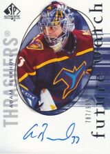 2005-06 Sp Authentic Hockey #207 Adam Berkhoel Rc Auto 787/999 Thrashers