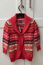 Baby GAP Cardigan Toddlers age 3 years Baby Gap Red Patterned Winter Warm