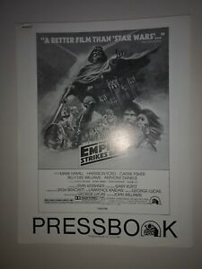 OFFICIAL EMPIRE STRIKES BACK star wars PRESS BOOK