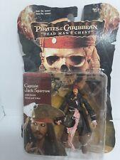 """Disney Captain Jack Sparrow """"Dead Man's Chest"""" Figure Zizzle 2006"""