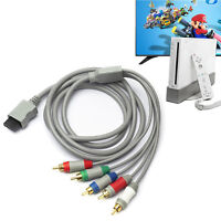Male to 5RCA Male HD Video Audio TV Display Cable for Wii Support 480P US