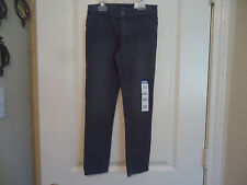 NWT The Children's Place Sz 6X/7 Gray Jeggings Super Skiny Fit Adjustable Waist