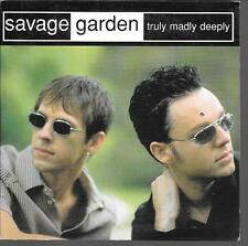 CD SINGLE 2 TITRES--SAVAGE GARDEN--TRULY MADLY DEEPLY--1998