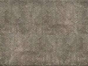 "HO Model Scenery - 56691 - 3D Cardboard Sheet ""Plain Tile"""