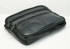 SAC CEINTURE homme ou femme porte feuille protege document attache ceinture cuir