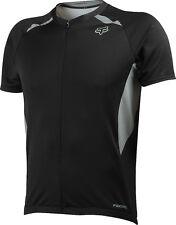 Fox Racing Aircool Race Jersey Black [Medium]