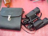 F6 Vintage Mercury 7x50 Model 1112 Binoculars with case VERY good condition