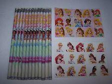 SALE!~DISNEY PRINCESS~Party Favor Bag Fillers~Lot of 10~Pencils+Stickers+Tattoos
