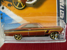 Hot Wheels '66 Ford 427 Fairlane Muscle Mania Brown