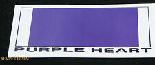 MADE IN US PURPLE HEART MEDAL ZAP STICKER DECAL US NAVY ARMY MARINES AIR FORCE