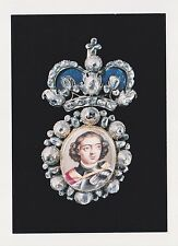 Jewels/Treasures of the Romanovs Russian Imperial Court POSTCARD Pectoral Badge