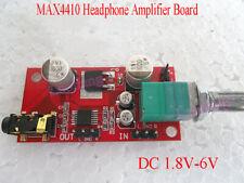 DC 1.8V-6V MAX4410 Micro Headphone Amplifier Board Replace NE5532 Preamplifier