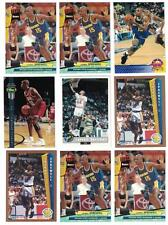 Latrell Sprewell 1992/93 ROOKIE LOT (9) WITH OTHER CARDS & INSERTS