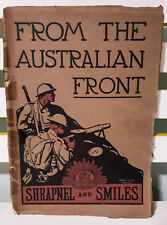 From the Australian Front: Shrapnel and Smiles! Vintage 1917 Promotional Book!