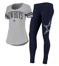 Dallas Cowboys NFL Women's Cecily Lounge T-Shirt & Leggings Set