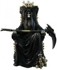 RULER of the UNDERWORLD  Reaper on Throne   Statue Figurine   H10.5''