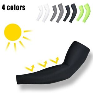 Men Women Cycling Arm Warmers Outdoor Sports Bicycle Riding Thermal Sleeves