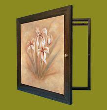 Tapa contador cuadro de luz Moldura c/cuelga llaves 1 puerta, m/ext 56x43x5'7 cm