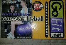 GoFit Pro Stability Ball with DVD and booklet Professional