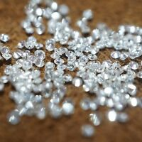 Natural White Diamond G-H Quality 2 MM Calibrated Diamonds Set Round 100% Real