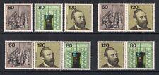 Bund  Mi. Nr. 1215 - 1217 - Zdr. aus Block 19 + Einzelmarken postfr. a. 1984 (9)