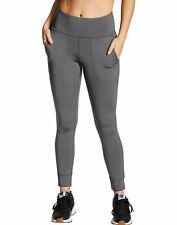 Champion Jogger Meia-calça Mulheres Duplo seco de largura na cintura Stretch Comfort Novo