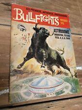 Vintage Houston Texas Astrodome Bullfighting 1966 Program Book Festival