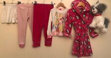 Girls Nightwear Bundle 4-5 Hello Kitty M&S Disney <D8866