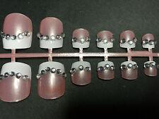 3d Full False Pre Designed Toe Nails x 12/24  Multiple Styles