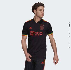 Ajax Amsterdam 21/22 Third Kit Bob Marley Three Little Birds Medium (M) Shirt